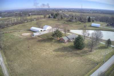 Boone County, Campbell County, Kenton County Single Family Home For Sale: 12780 Cleek Lane