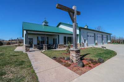 Alexandria Farm For Sale: 10691 Shaw Hess Road