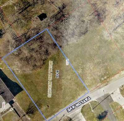 Highland Heights Residential Lots & Land For Sale: 2 Lots Taylor Avenue
