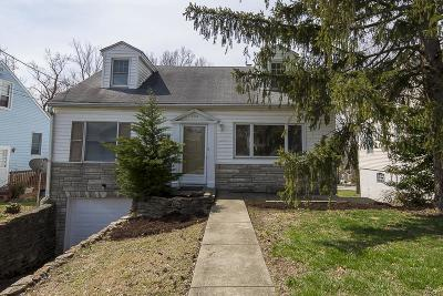 Fort Thomas KY Single Family Home For Sale: $209,900