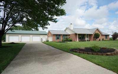 Crittenden Single Family Home For Sale: 1085 Verona Mt. Zion Road