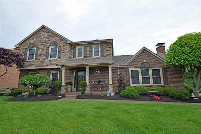 Single Family Home For Sale: 1037 Brookville Court