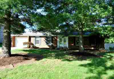 Single Family Home For Sale: 844 Collins Road