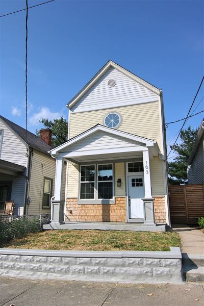 Bellevue Single Family Home For Sale: 103 Washington Ave