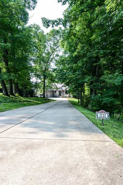 Single Family Home For Sale: 2232 Wood Run Road
