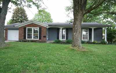 Florence KY Single Family Home For Sale: $199,800