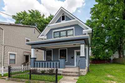 Covington Single Family Home For Sale: 1038 Banklick Street