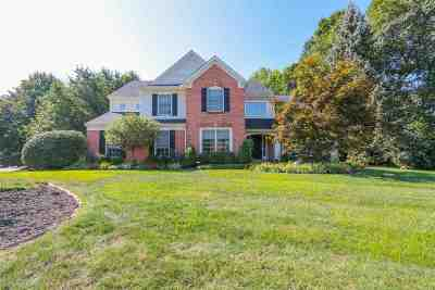 Crescent Springs Single Family Home For Sale: 910 Riverwatch