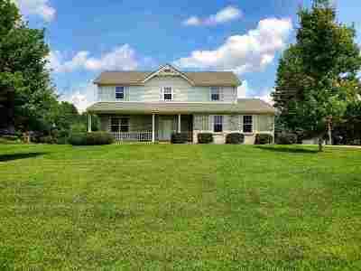 Dry Ridge Single Family Home For Sale: 2115 Dry Ridge - Mt Zion Road