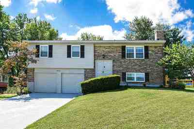 Single Family Home For Sale: 2621 Brookview Court