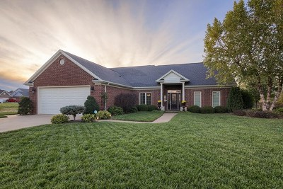 Owensboro Single Family Home For Sale: 1854 Whispering Meadows