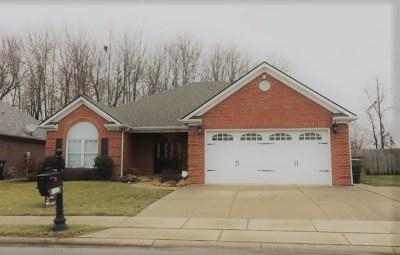 Owensboro Single Family Home For Sale: 3837 Cross Creek Trail