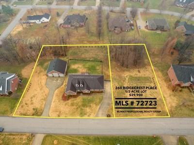 Owensboro Residential Lots & Land For Sale: 260 Ridgecrest Place