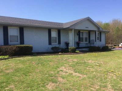 Owensboro Single Family Home For Sale: 1492 Wrights Landing Road