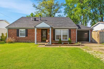 Owensboro Single Family Home For Sale: 2240 Citation Ave