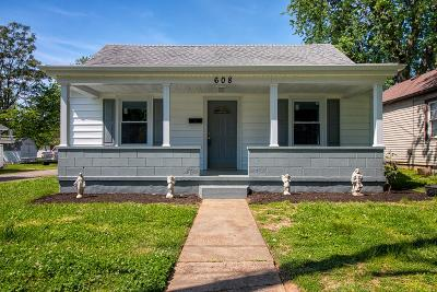 Owensboro Single Family Home For Sale: 608 W Highland Ave
