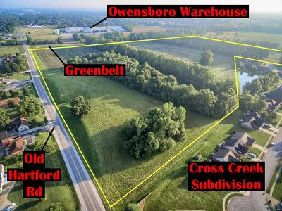 Owensboro Residential Lots & Land For Sale: 4021 Old Hartford Rd