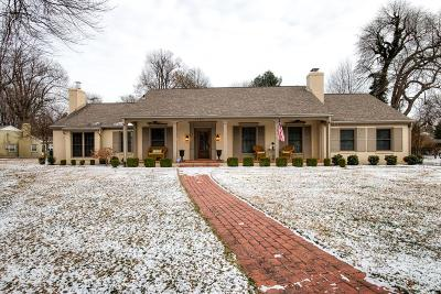 Owensboro Single Family Home For Sale: 1601 Roosevelt Road
