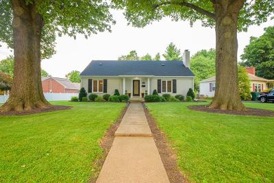 Owensboro Single Family Home For Sale: 1540 Oak Park Dr