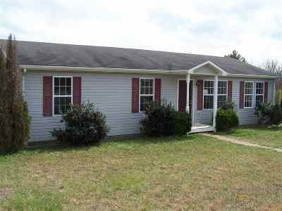 Bowling Green Single Family Home For Sale: 2357 Lodge Hall Rd