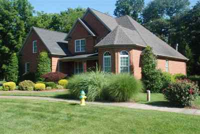 Bowling Green Single Family Home For Sale: 520 Covington Grove Court