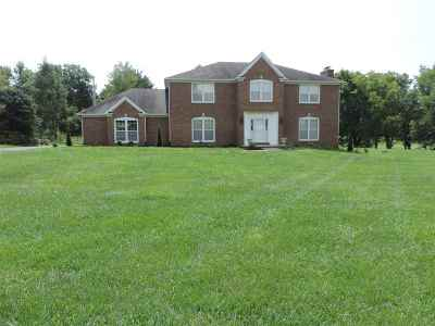 Bowling Green Single Family Home For Sale: 839 Grider Pond