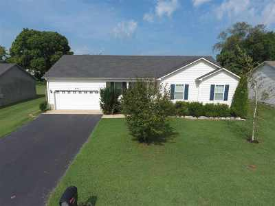Bowling Green Single Family Home Under Contract: 3054 Natural Way