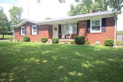 Leitchfield Single Family Home For Sale: 124 D Mercer Rd