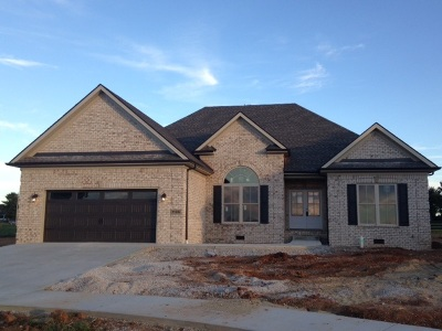 Bowling Green Single Family Home For Sale: Lot 198 McCoy Place Subdivision