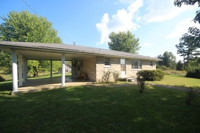 Caneyville Single Family Home Under Contract: 3351-A Bryant Ridge Road