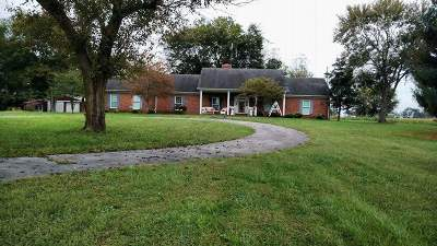 Bowling Green Single Family Home Under Contract: 8500 N Nashville Road