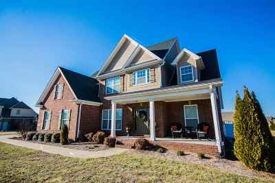Bowling Green Single Family Home Under Contract: 127 Grand Teton Way