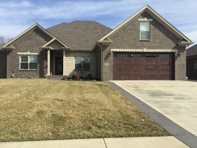 Bowling Green Single Family Home For Sale: 3919 Chevy Way