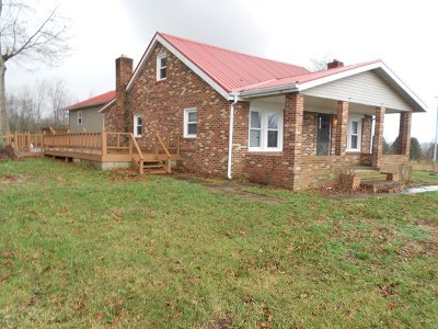 Bowling Green Single Family Home For Sale: 6677 Penns Chapel Rd