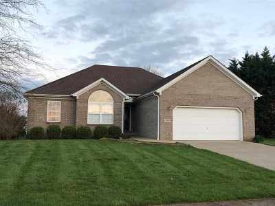 Bowling Green Single Family Home Under Contract: 3600 Abbywood Ct