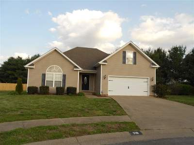 Bowling Green Single Family Home For Sale: 718 Yellowwood Ct