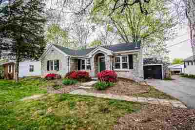 Bowling Green Single Family Home For Sale: 1247 Oliver Street