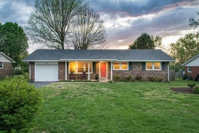 Bowling Green Single Family Home Under Contract: 2605 Utah Dr