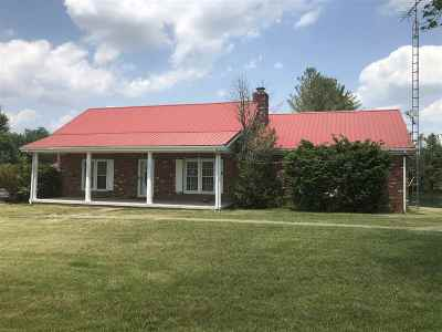 Caneyville Single Family Home For Sale: 3541 Wilson Church Road
