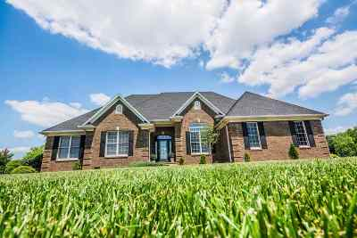 Bowling Green Single Family Home For Sale: 1232 Fred Lively Road