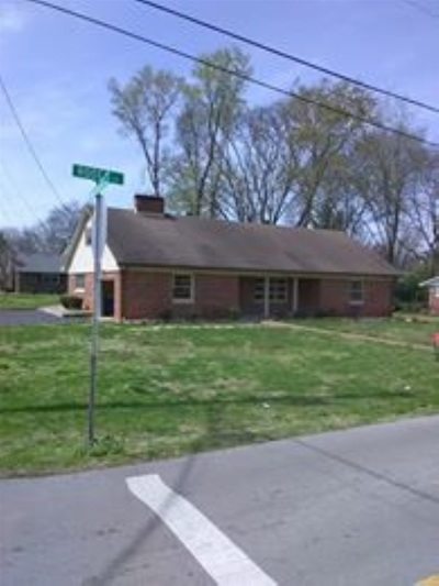 Bowling Green Single Family Home For Sale: 1407 Rodes Drive