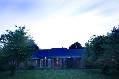Bowling Green Single Family Home For Sale: 8629 Nashville Road