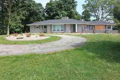 Campbellsville Single Family Home For Sale: 5200 Bengal Road