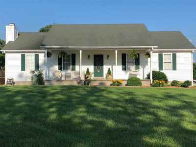 Edmonson County Single Family Home Under Contract: 5816 Ky Highway 259 N