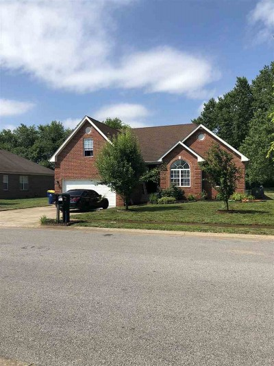Bowling Green Single Family Home For Sale: 701 Springfield Boulevard