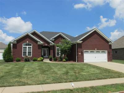 Bowling Green Single Family Home Under Contract: 1321 Dayspring Ct