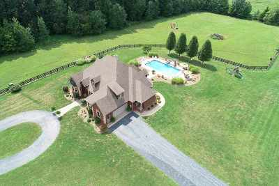 Bowling Green Single Family Home For Sale: 5880 Woodburn Allen Springs Rd