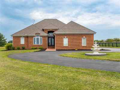 Bowling Green Single Family Home For Sale: 5820 Woodburn Allen Springs Rd
