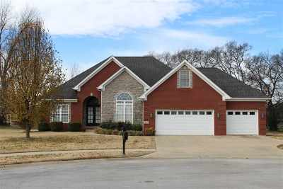 Bowling Green Single Family Home For Sale: 111 Sutters Mill Court