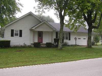 Edmonson County Single Family Home Under Contract: 851 Silent Grove Church Rd